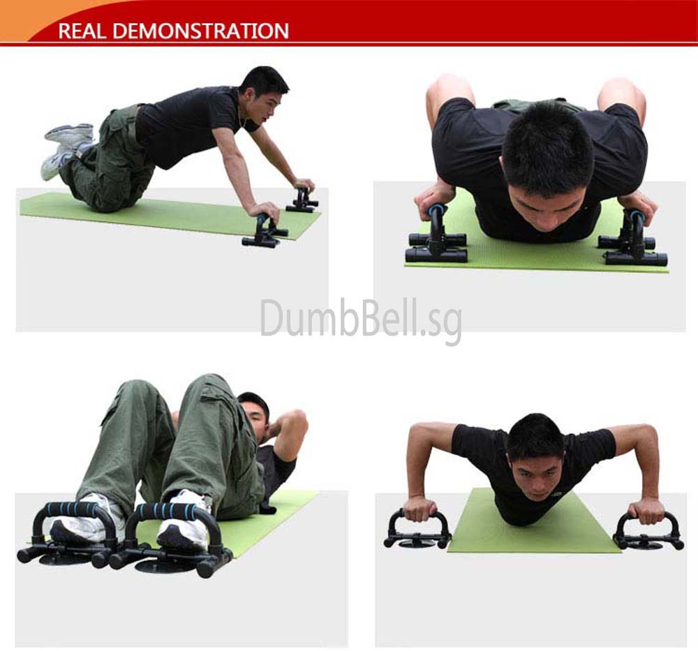 Push Up n Sit Up Demo